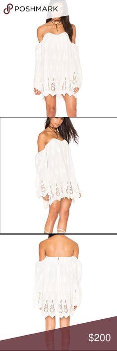 2b16851d8b44e7 Stone Cold Fox Dolman Sleeve Lace Mini Dress Small Stone Cold Fox Dolman Sleeve  Lace Mini