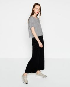 T-SHIRT WITH APPLIQUÉ-View all-WOMAN-NEW IN | ZARA United Kingdom