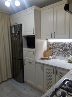Kitchen Cabinets, Wall, House, Kitchen Ideas, Kitchens, Home Decor, Valentines Day Weddings, Balcony, Decoration Home