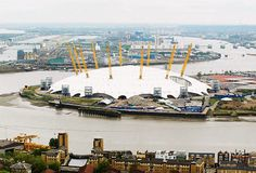 The O2 Arena as it is now.  It was still The Millennium Dome when I last went.