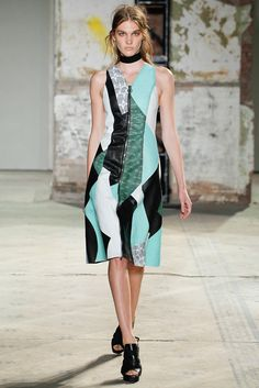 Proenza Schouler Spring 2013 Ready-to-Wear Fashion Show - Irina Nikolaeva