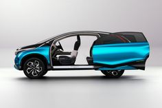 Honda Vision XS-1 Concept Sliding door