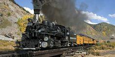"""""""Narrow Guage Train"""" Silverton, Co"""