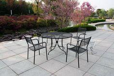 Metal Patio Furniture On Pinterest Porch Glider Metal
