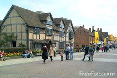 Stratford-upon- Avon ..Shakespeare's Birthplace