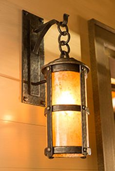Martillo Hanging Sconce - The Heirloom Companies, Hand Forged Design