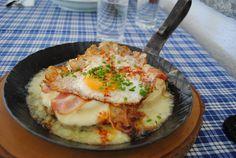 Switzerland: Kaseschnitte #cheese #food