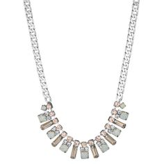 Petite Rhinestone Fringe Necklace from the Duchess collection, Chloe + Isabel