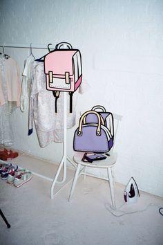 2D Backpacks