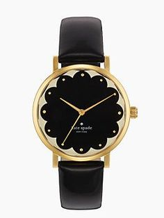 kate spade black and gold watch - I love this! Very ...