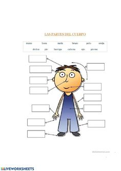 Free ESL, EFL printable worksheets and handouts Spanish Grammar, Spanish Language Learning, Spanish Teacher, Spanish Classroom, Teaching Spanish, Teaching English, Spanish Alphabet, Teaching Resources, Spanish Lessons For Kids