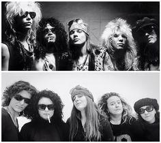 Guns 'N Roses Fotografia Divertimento Somiglianze Attori Attrici Cantanti Gruppi Facebook Sosia  Spettacolo Musica Pin Cartoni Film Gioco Televisione Amici