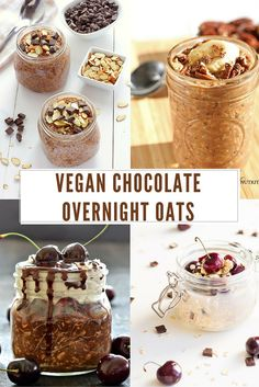 Start Your Day with Chocolate: 8 Vegan Overnight Oats that Taste Like Candy