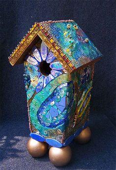 polymer clay  and...  Susan Crocenzi - nice painting ideas too!