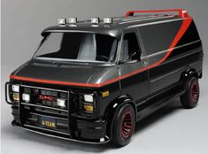 A-Team Van - GMC G-Series (1983)...