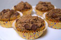 Lo-cal espresso chocolate chip muffins