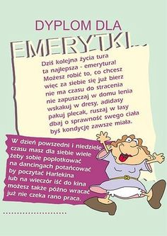 Dyplom format z kopertą, w ozdobnej folii Weekend Humor, Retirement Parties, Motto, Good To Know, Wish, Coaching, Scrapbook, Motivation, Words