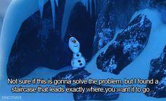ice #olaf #frozen #disney