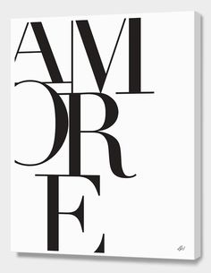 """#20 - CA + BFP """"Amore"""", Numbered Edition Canvas Print by Renee Tohl - From $69.00 - Curioos"""