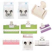 Martha Stewart Deep Edger Border Punch Scrapbook Card Craft Select Your Design!