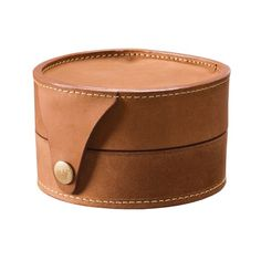 Mulholland Brothers Clamshell Fly Fishing Reel Case - Lariat Leather 70772 - Save 38%