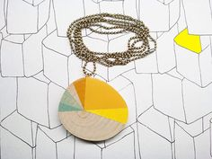 Sunset vintage colore - pendant/necklace by astree $20.63