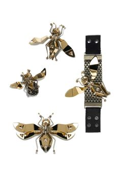 The August trans-seasonal edit: LANVIN brooches and belt