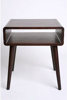Danish modern side table from Urban Outfitters. Why oh why does it only exist in the US?