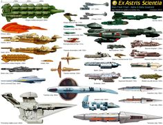 star trek ships | Star Trek Ships Beautiful high rez pics of hundreds of spaceships from ...