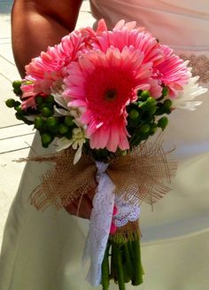 Gerber Daisy Bouquet Bouquets Wedding Pinterest