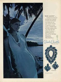 Sarah Coventry Blue Lagoon Ad 1964