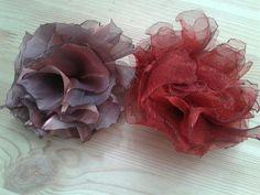 .flores de seda