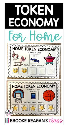 Editable token economy charts and rewards for home use. Help your child with their behavior interventions at home with this token economy boards. Many boards to choose from as well as many different rewards. Editable to fit your child's specific needs. Behavior Management System, Behavior System, Behavior Interventions, Behavior Plans, Classroom Management, Behavior Charts, Special Education Behavior, Student Behavior, Kids Behavior