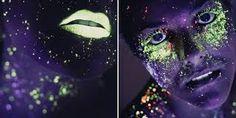 maquillaje de neon - Buscar con Google
