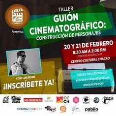 Luis Bond impartirá Taller de Guión Cinematográfico en el Centro Cultural Chacao http://crestametalica.com/luis-bond-impartira-taller-de-guion-cinematografico-en-el-centro-cultural-chacao/ vía @crestametalica