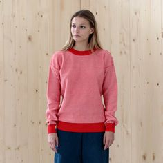 sweater KELE red