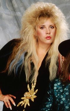 """For anon: Stevie in 1987 and "" Stevie Nicks Young, Stevie Nicks Fleetwood Mac, Stephanie Lynn, Women Of Rock, Female Singers, Big Hair, Timeless Beauty, My Idol, Curly Hair Styles"