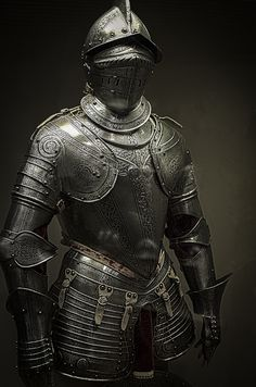 Armors 437130707579318065 - Had fun in the Philadelphia Museum of Art's European armor section. Source by theincrediblean Medieval Knight, Medieval Armor, Medieval Fantasy, Armadura Medieval, Knight In Shining Armor, Knight Armor, Arm Armor, Body Armor, Ancient Armor