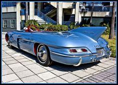 This has to be one of the strangest cars I've ever seen.  1956 Pontiac Club de Mer.