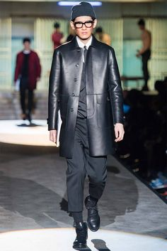 Dean and Dan Caten presented their Fall/Winter 2014 collection for Dsquared2 during Milan Fashion Week.