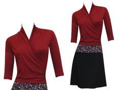 Entdecke lässige und festliche Kleider: HerbstBunt Kleid Yara - viele Farben made by ungiko via DaWanda.com
