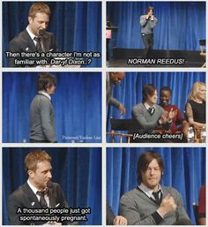 Norman Reedus & Chris Hardwick (Talking Dead)