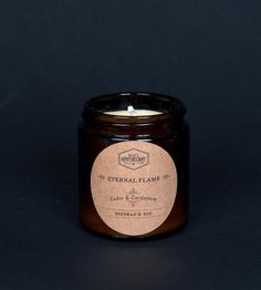 Cedar & Cardamom Soy Candle | This 4 oz. candle is made from soy and beeswax and features a ... | Candles