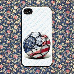 USA World Cup Soccer Ball for iPhone 4, iPhone 4s, iPhone 5 /5s/5c, Samsung Galaxy S3, Samsung Galaxy S4 Case