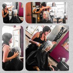 Cindy's first visit to our #Salon and the way it happend we decided it was #karma :-)  @Aveda #Aveda #Haircut #Hair #Hairstyle #Style #Fashion #Salon #@kx935 #laguna #LagunaBeach #asseeninlaguna #kx935