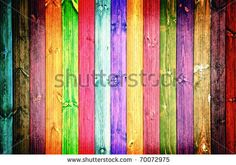painted fence