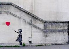 "Banksy ""Girl with Balloon"""