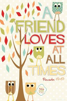 Owl Friends - Poster