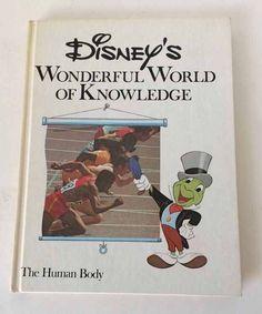 Disney's Wonderful World of Knowledge Vol 15 The Human Body1973 Jiminy Cricket