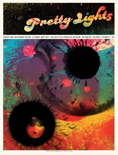 lil tuffy -- Image of Pretty Lights - CA 2012